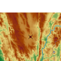 Nearby Forecast Locations - Loikaw - Χάρτης