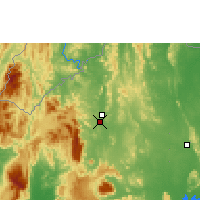 Nearby Forecast Locations - Loei - Χάρτης