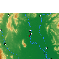 Nearby Forecast Locations - Sukhothai Thani - Χάρτης