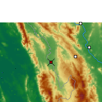 Nearby Forecast Locations - Mae Sot - Χάρτης