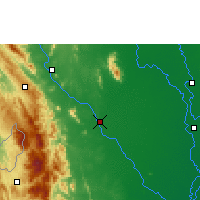 Nearby Forecast Locations - Kamphaeng Phet - Χάρτης