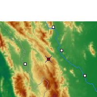 Nearby Forecast Locations - Doi Mu Soe Agromet - Χάρτης