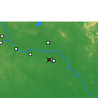 Nearby Forecast Locations - Roi Et - Χάρτης
