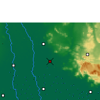 Nearby Forecast Locations - Ayutthaya Agromet - Χάρτης