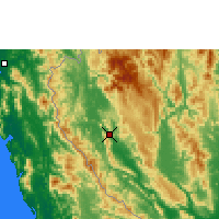 Nearby Forecast Locations - Thong Pha P. - Χάρτης