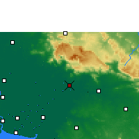 Nearby Forecast Locations - Prachinburi - Χάρτης