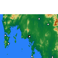 Nearby Forecast Locations - Κράμπι - Χάρτης
