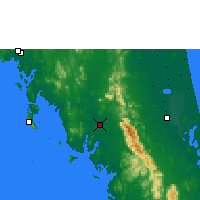Nearby Forecast Locations - Trang - Χάρτης