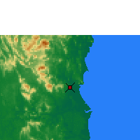 Nearby Forecast Locations - Kuantan - Χάρτης