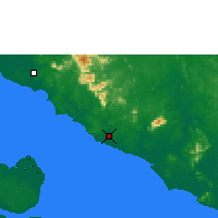 Nearby Forecast Locations - Malacca - Χάρτης