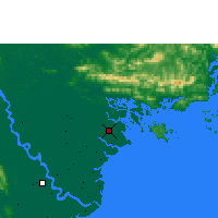Nearby Forecast Locations - Phu Lien - Χάρτης