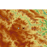 Nearby Forecast Locations - Viengsay - Χάρτης