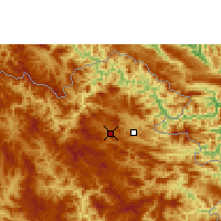 Nearby Forecast Locations - Sam-neua - Χάρτης