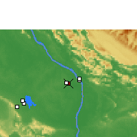 Nearby Forecast Locations - Thakhek - Χάρτης