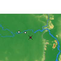 Nearby Forecast Locations - Pakse - ������