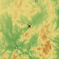Nearby Forecast Locations - Wuying - Χάρτης