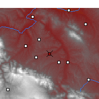 Nearby Forecast Locations - Guanghe - Χάρτης