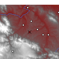 Nearby Forecast Locations - Hezheng - Χάρτης