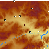 Nearby Forecast Locations - Xuanhua - Χάρτης