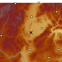 Nearby Forecast Locations - Xinzhou - Χάρτης
