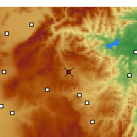 Nearby Forecast Locations - Yu Xian - Χάρτης