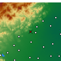 Nearby Forecast Locations - Tang Xian - Χάρτης