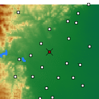 Nearby Forecast Locations - Xinle - Χάρτης