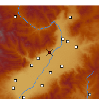 Nearby Forecast Locations - Qingxu - Χάρτης