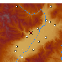 Nearby Forecast Locations - Jiaocheng - Χάρτης