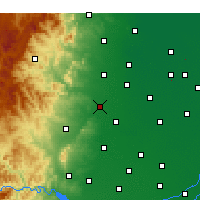 Nearby Forecast Locations - Shahe - Χάρτης