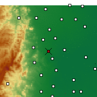Nearby Forecast Locations - Gaoyi - Χάρτης