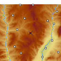 Nearby Forecast Locations - Pu Xian - Χάρτης