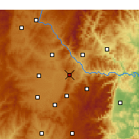 Nearby Forecast Locations - Lucheng - Χάρτης