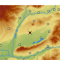 Nearby Forecast Locations - Linyi/SHX - Χάρτης
