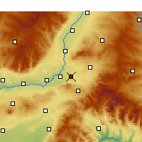 Nearby Forecast Locations - Quwo - Χάρτης