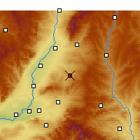 Nearby Forecast Locations - Fushan/SHX - Χάρτης