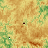 Nearby Forecast Locations - Luozigou - Χάρτης