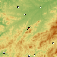 Nearby Forecast Locations - Liuhe - Χάρτης