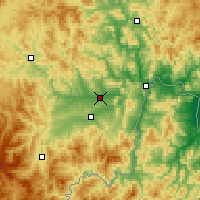 Nearby Forecast Locations - Yanji - Χάρτης