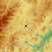 Nearby Forecast Locations - Ningcheng - Χάρτης
