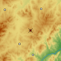 Nearby Forecast Locations - Jianping - Χάρτης