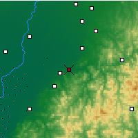 Nearby Forecast Locations - Liaoyang - Χάρτης