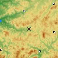 Nearby Forecast Locations - Xinbin - Χάρτης