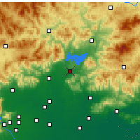 Nearby Forecast Locations - Miyun - Χάρτης