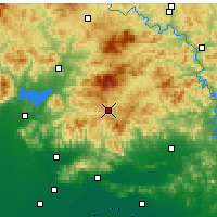 Nearby Forecast Locations - Xinglong - Χάρτης