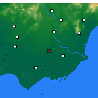 Nearby Forecast Locations - Luannan - Χάρτης
