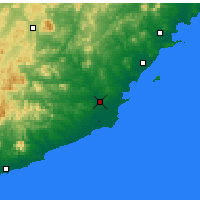Nearby Forecast Locations - Suizhong - Χάρτης