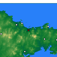 Nearby Forecast Locations - Muping - Χάρτης