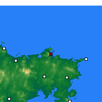 Nearby Forecast Locations - Weihai - Χάρτης