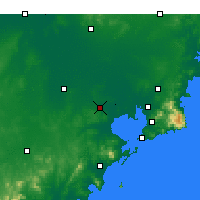 Nearby Forecast Locations - Jiaozhou Bay - Χάρτης